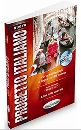 9789606632761: Nuovo progetto italiano. Con CD-ROM: LIVELLO INTERMEDIO B1B2 LIBRO DELLO STUDENTE DVD