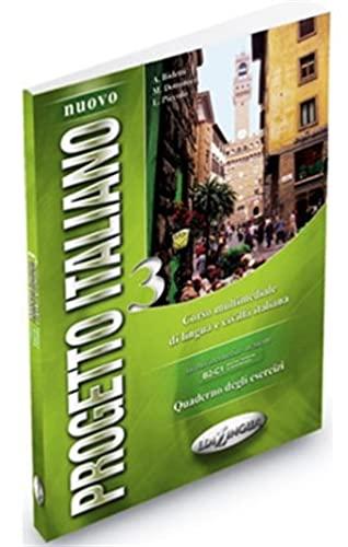 9789606930102: Nuovo Progetto Italiano: Quaderno Degli Esercizi 3 (Level C1-C2) (Italian Edition)