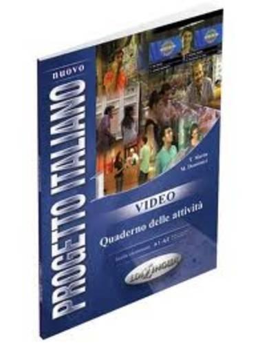 9789606930256: Nuovo Progetto Italiano: Quaderno DI Video 1/DVD (Level A1-A2) (Italian Edition)