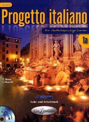 9789606930294: Nuovo Progetto italiano 1a für deutschsprachige Lerner - Lehr und Arbeitsbuch