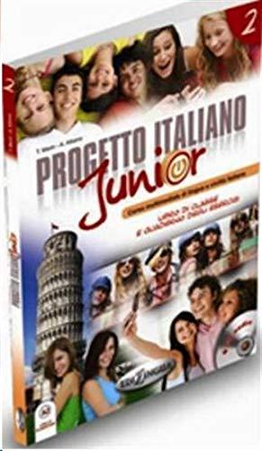 9789606930331: Progetto italiano junior. Libro dello studente. Con CD Audio: 2