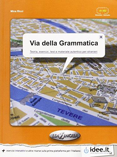 9789606930478: Via Della Grammatica: Libro (Italian Edition)
