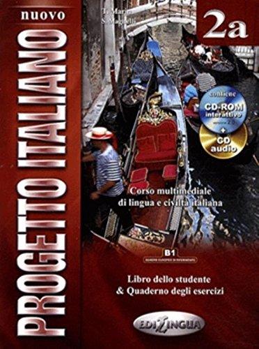 9789606930577: Nuovo progetto italiano. Con CD Audio. Con CD-ROM: 2A