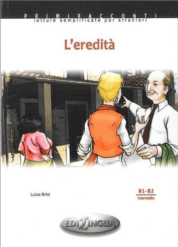 9789606930652: Primiracconti: L'eredita + CD-audio (B1-B2)