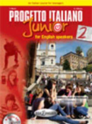 9789606930744: Progetto italiano junior: Student's book + Workbook + CD + DVD 2 - For English s