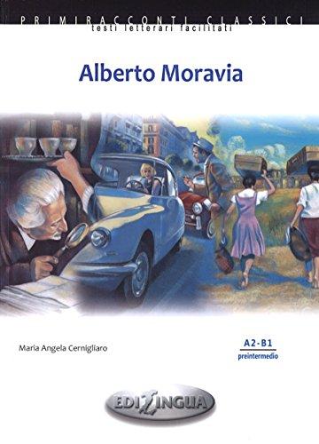 9789606930843: Alberto Moravia : A2-B1 preintermedio (1CD audio)
