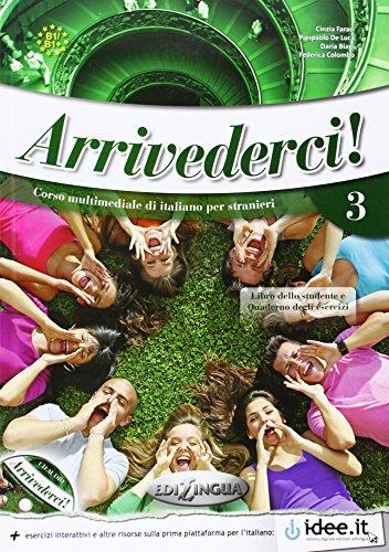 9789606930935: Arrivederci!: Libro + CD audio + DVD 3