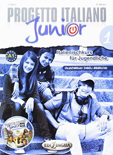 Progetto italiano Junior 1 für deutschsprachige Lerner - Quaderno degli esercizi