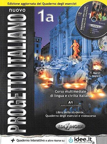 9789606931253: Nuovo progetto italiano. Vol. 1A. Libro dello studente e quaderno degli esercizi. Con CD Audio e CD-ROM