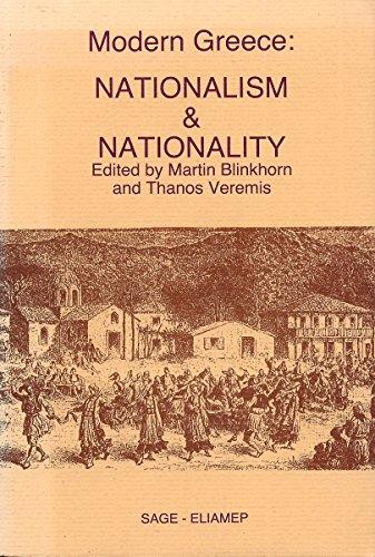 9789607061003: Modern Greece: Nationalism and Nationality