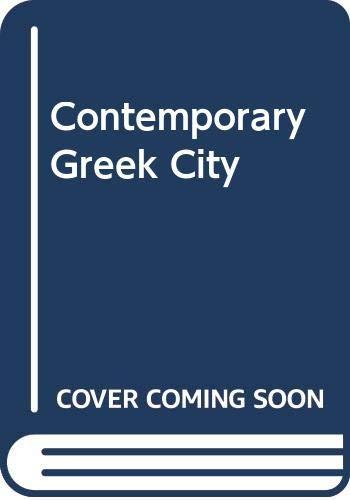 9789607424273: Contemporary Greek City