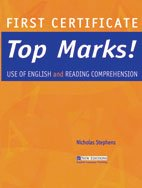 First Certificate Top Marks! Use of English: Nicholas Stephens (author)