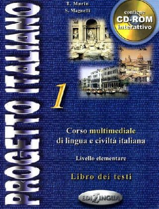 Progetto Italiano 1: Beginning - Intermediate (Italian: Telis Marin, Sandro