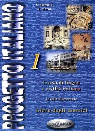 9789607706065: Progetto italiano 1 : Livello elementare - intermedio, libro degli esercizi