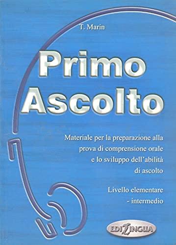 9789607706355: Ascolto: Primo Ascolto - Libro + Audiocassetta (Italian Edition)