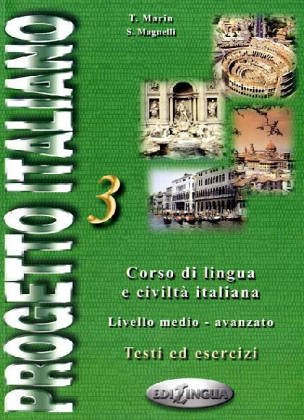 9789607706478: Progetto italiano 3 : Testi di esercizi