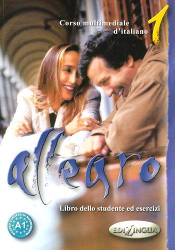 9789607706607: Allegro 1: Corso Multimediale d'italiano - Libro dello Studente ed Esercizi