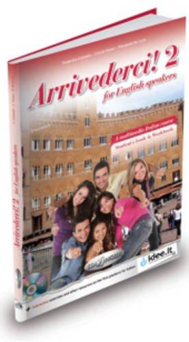 9789607706676: Arrivederci!: Libro + CD audio + DVD 2 - for English Speakers