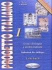 9789607706683: Progetto italiano 1, Lehrbuch (Deutsche Ausgabe)