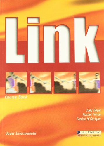 9789608136168: Link Upper Intermediate Course Book and Audio CD