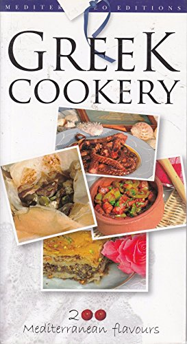 Greek Cookery: 200 Mediterranean Flavours (9789608227613) by Stella Kalogeraki