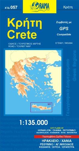 9789608283190: Crete Road Map