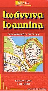 Ioannina 1 : 8 000