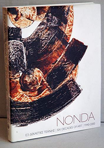 9789608347540: Nonda: Six Decades of Art, 1940-2000