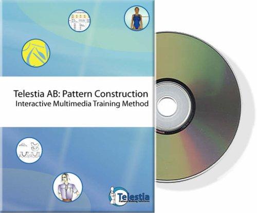 9789608430488: Telestia Trainer: Pattern Construction - Interactive Multimedia Training Software for Pattern Making Skills