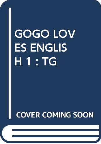 9789620010149: Gogo Loves English: Teacher's Book 1