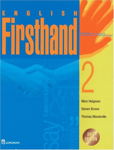 English Firsthand: Level 2: Helgesen, Marc; Brown,