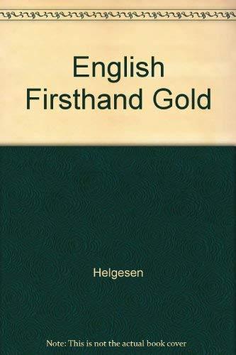 English Firsthand Teacher's Manual 1: Helgesen, Marc; Brown,
