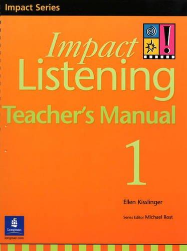 9789620051364: Impact Listening 1, Teacher's Manual