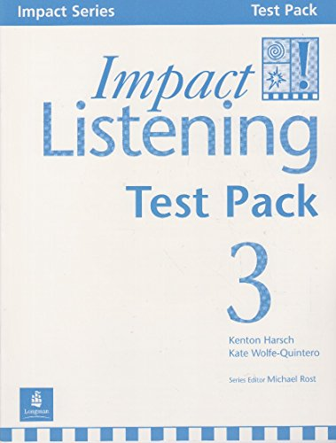 9789620051470: Impact Listening 3, Test Pack