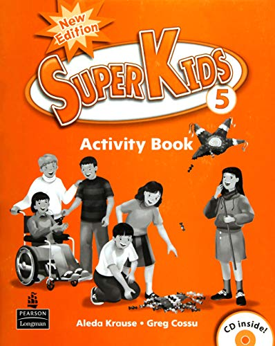 SuperKids New Edition : Activity Book with CD LV5: Aleda Krause