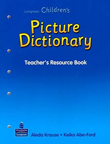 9789620053160: Longman Children's Picture Dictionary (Teacher's Resource Book)