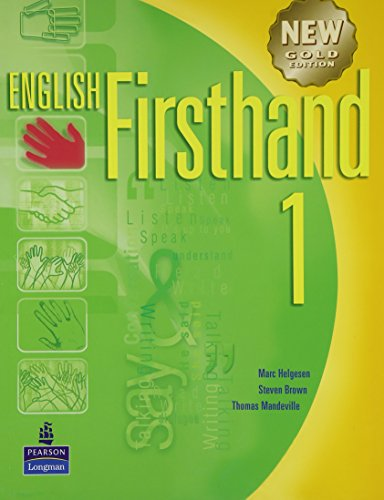 English Firsthand 1 with Audio CD: New: Helgesen, Marc; Brown,