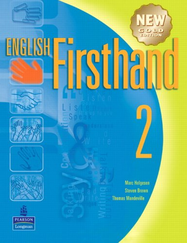 English Firsthand 2 with Audio CD: New: Marc Helgesen, Steven