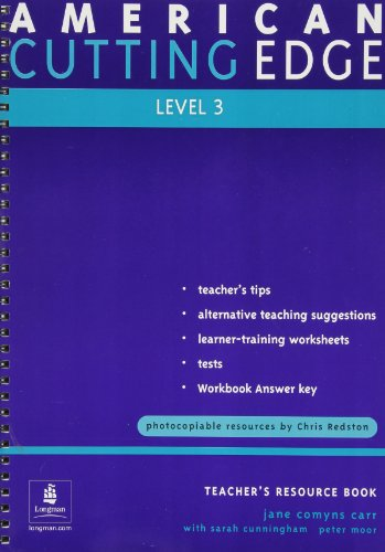 9789620056376: Cutting Edge: American English Teacher's Resource Book: No.3 (Cutting Edge)