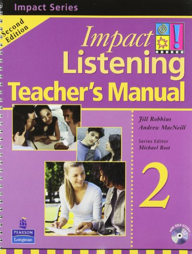 9789620058059: Impact Listening 2, Teacher's Manual (Book & CD)