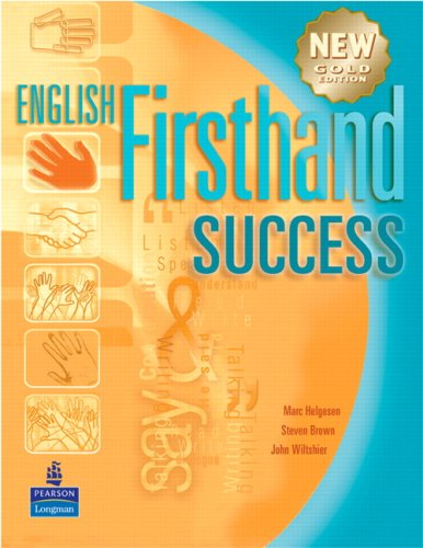 English Firsthand Success with CD: Helgesen, Marc, Brown,