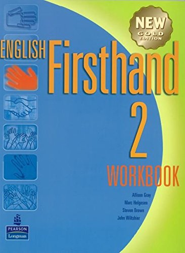 9789620058240: English Firsthand 2 with Audio CD: New Gold Edition Workbook