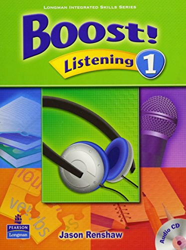 9789620058738: Boost! Listening 1 Student Book with Audio CD