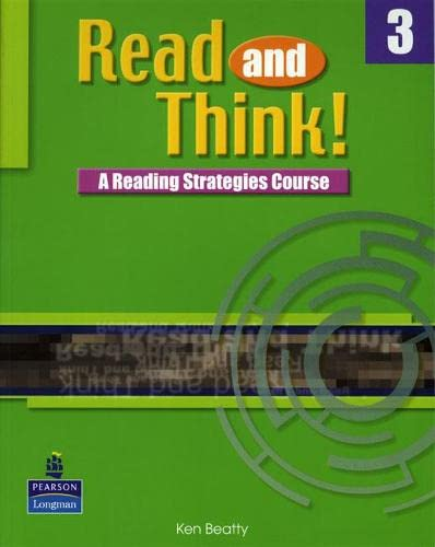 9789620183997: Read and Think: Students Book Bk. 3