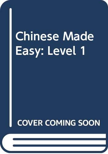 9789620420412: Chinese Made Easy Workbooks 1 (Simplified Chinese Edition) (Bk. 1)