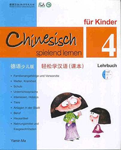 9789620429484: Chinese Made Easy for Kids Textbook 4 German Edition (Chinese Edition)