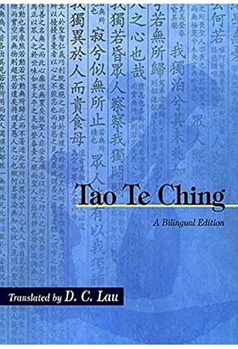 9789622019928: Tao Te Ching: A Bilingual Edition (Chinese University Press)