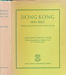 9789622090125: Hong Kong: Birth, Adolescence and Coming of Age
