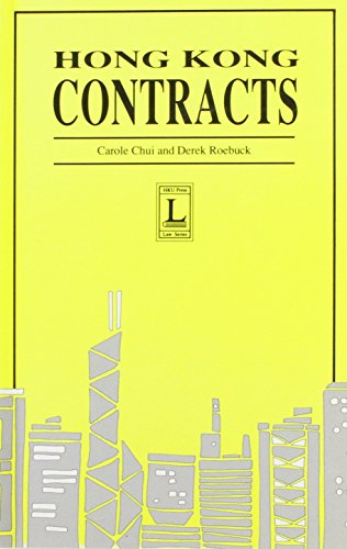 Hong Kong Contracts (Hong Kong University Press: Carole Chui, Derek