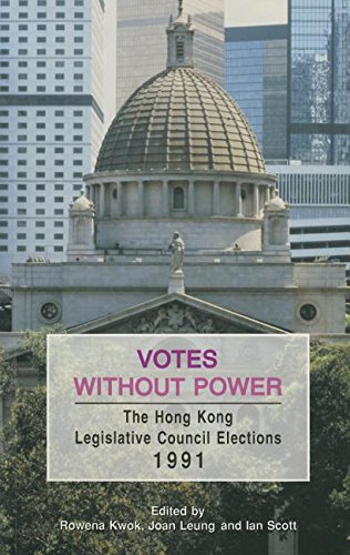 9789622093171: Votes Without Power: The Hong Kong Legislative Council Elections, 1991